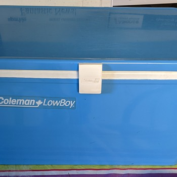 Coleman lowBoy cooler. - Advertising