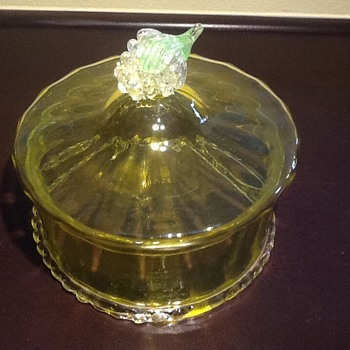 Victorian Glass Berry or Butter? - Glassware