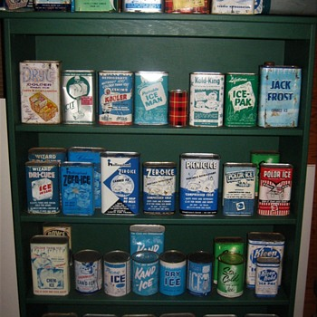 Canned Ice Collection - Advertising