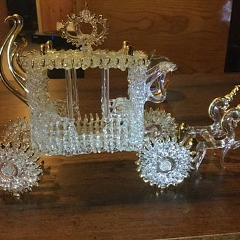 Cinderella glass - Art Glass