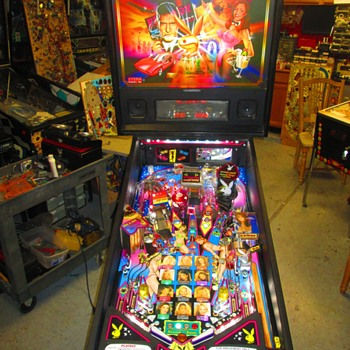 My Favourite 2002 Stern Playboy pinball machine - Coin Operated