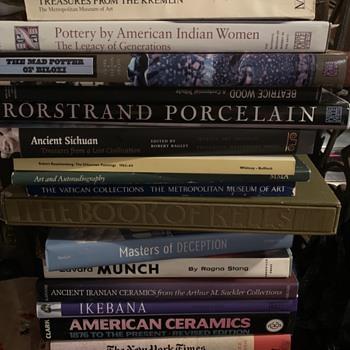 Saturday's Yard Sale Finds - Books