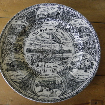Historic Plate  - China and Dinnerware