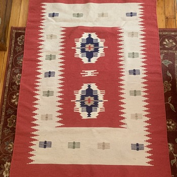 Native American Rug MADE WHERE? HOW OLD? - Rugs and Textiles