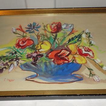 Floral Watercolor - Fine Art
