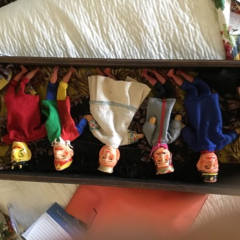 Anyone know anything about my Punch and Judy puppets ?
