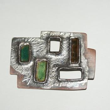 Mid-Century Modern Brooch - Fine Jewelry