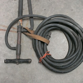 Fire hose and pump - Firefighting