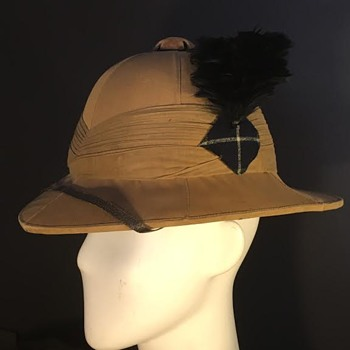 WWI Wolseley Sun Helmet - 2nd Lt. Bibby, Scottish Rifles (KIA) - Military and Wartime