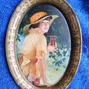 1916 Elaine Coca-Cola Tip Tray - Coca-Cola