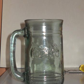 Glass Coke Mug - Coca-Cola