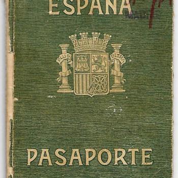 1938 Spanish Republican passport - Paper