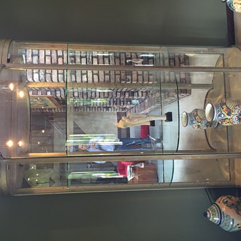 Curved Glass curio