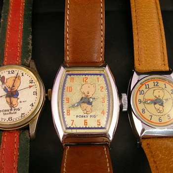 Porky Pig Wristwatches - Wristwatches