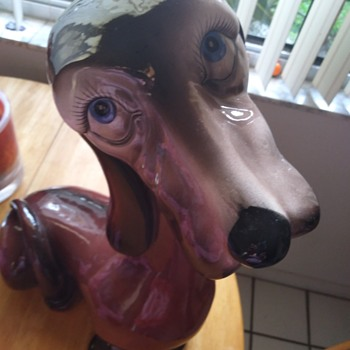 Ceramic made in Italy dog - Figurines