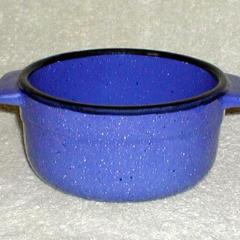 Blue Stoneware Bowls - China and Dinnerware