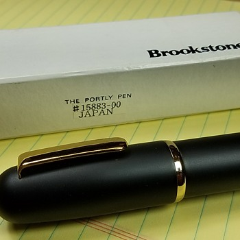 """The Portly Pen"" Novelty Pen from Brookstone - Pens"