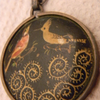 Antique Oriental Pendant or Necklace  OLD OLD OLD - Asian