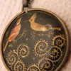 Antique Oriental Pendant or Necklace  OLD OLD OLD