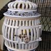 Vintage Italian Birdcage Lamp