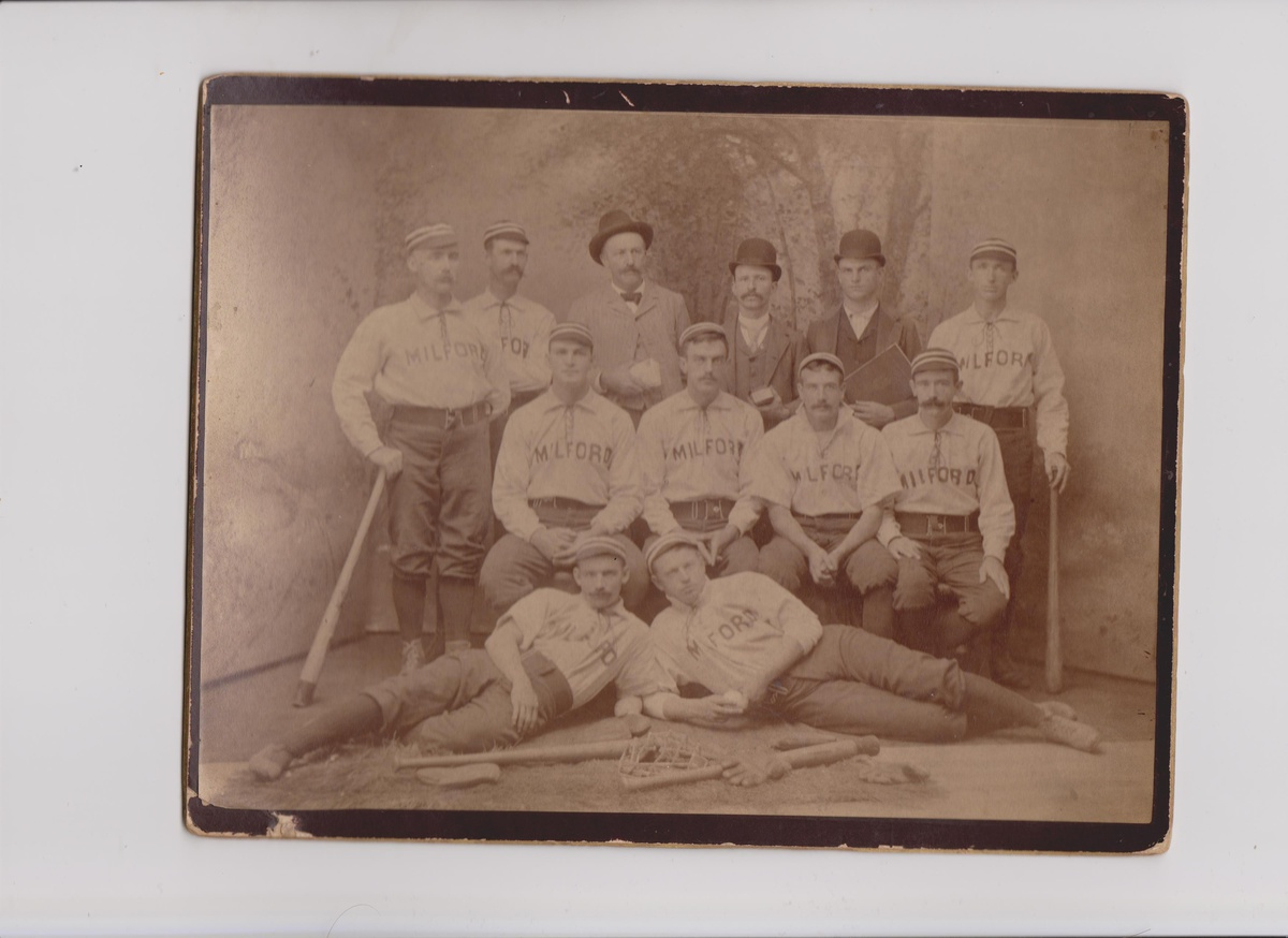 Another Early Milford NH Baseball Team Cabinet Photo | Collectors ...