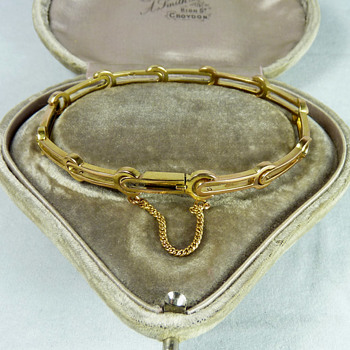 Russian Pre-Revolutionary 14k Gold Bracelet by Faberge subcontactor, Abraham Beilin