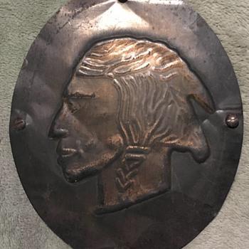 Native American Plaque - Fine Art