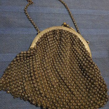 Unknown origin metal bead handbag - Bags