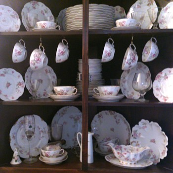 Haviland France Limoges ~ Nearly full set for 18 - China and Dinnerware