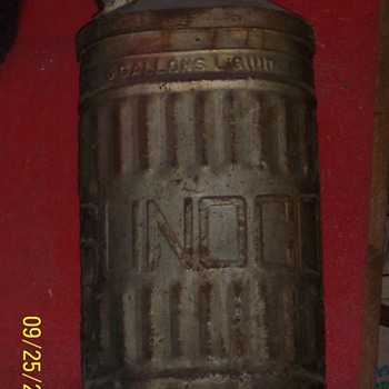 Sunoco Vintage gas can