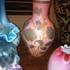 Pink Glass Vase - THOMAS WEBB/JULES BARBE