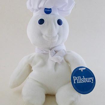 Pillsbury Doughboy Plush Toy - Advertising