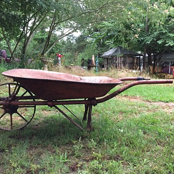 Old miners wheel barrow  - Tools and Hardware