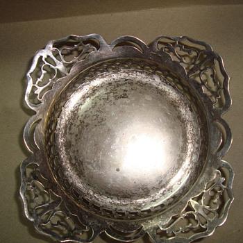 dish  - Silver