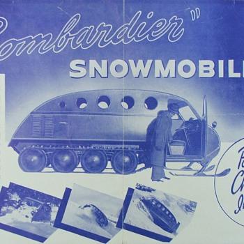 Bombardier Brochure & Maintenance manual - Advertising