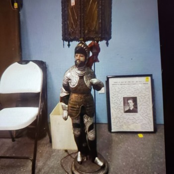 Spanish conquistador floorlamp? - Lamps