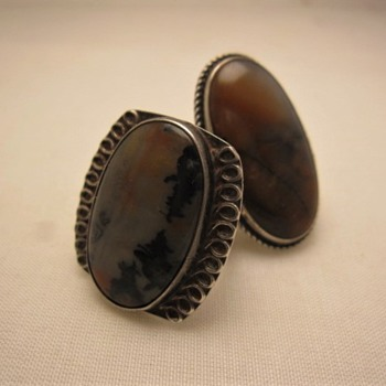 Petrified wood jasper rings - Fine Jewelry