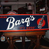 Barq's Root Beer...Embossed Vintage Tin Sign