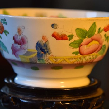 English Porcelain Bowl - Hildreth - between 1822 and 1830 - Kitchen
