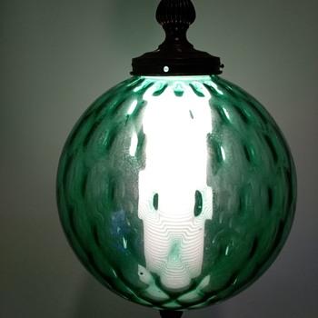 Venini style lamp - Art Glass