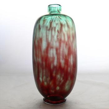 Slip-Graal vase, Edvin Öhrström (Orrefors, 1952) - Art Glass