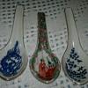 Asian Porcelain Spoons