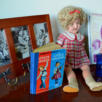 In honor of Shirley Temple: my Shirley Temple Collection