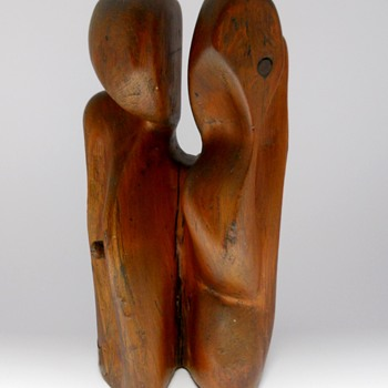 Henry Moore, Free form sculpture, Surealiste Primitive, Early 20 Century  - Fine Art