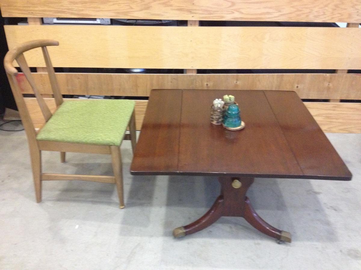 Superieur Vintage 1950u0027s Colonial Style Hi Low Adjustable Diner Table | Collectors  Weekly