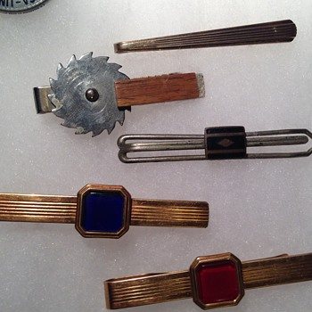 Assorted Tie Clips - Mens Clothing