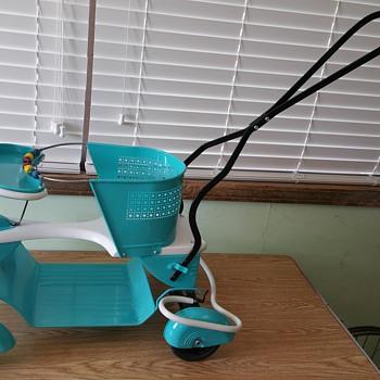 1940s Taylor Tot Stroller - Art Deco