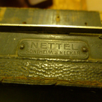 Antique Paris-Hall camera