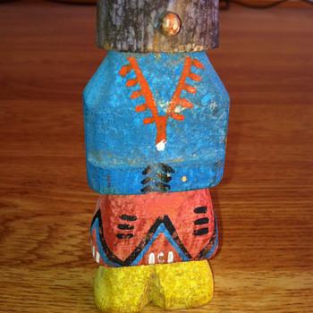"Kachina Doll 4"" tall"