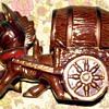 pottery-donkey whisky decanter?